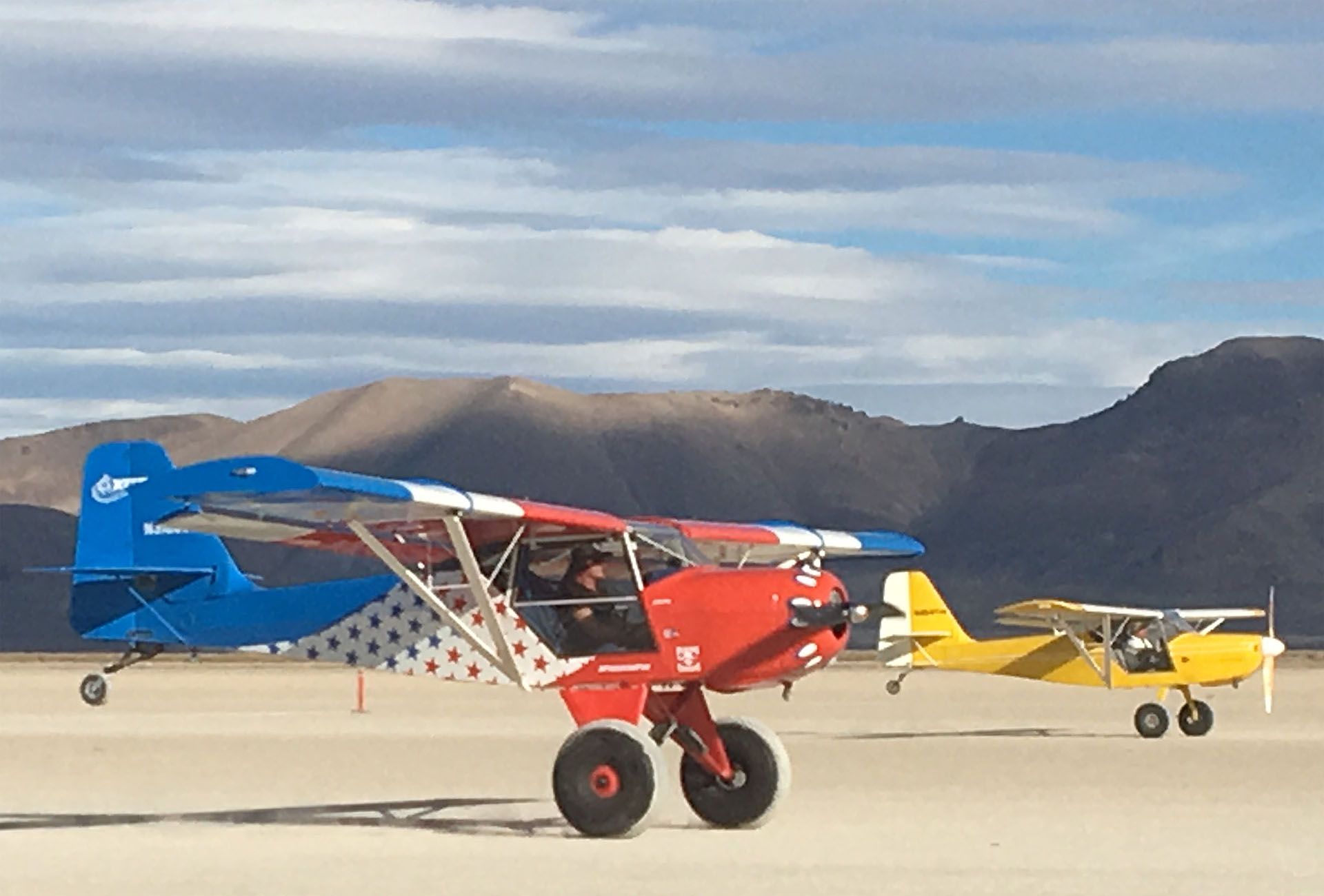 STOL Drag at the High Sierra Fly-In